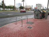 La Oficina de la Bicicleta repone y mejora las horquillas en varios puntos del municipio