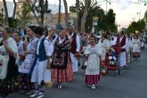 Cientos de pinatarenses participan en la tradicional ofrenda de frutos a San Pedro Apóstol