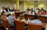 Todos los grupos políticos del Ayuntamiento de Águilas aprueban dos mociones conjuntas