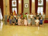 Recepción a estudiantes del Instituto Hispánico de Murcia