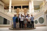 Los asociados de Guadalentín Emprende han visitado el Edificio Galerías, en calle Corredera