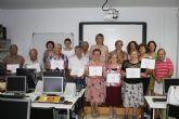 Termina el curso de informática para mayores en Torre-Pacheco
