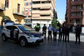 Esta mañana se ha hecho entrega el nuevo vehículo de la Policía Local de Alcantarilla