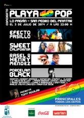 Playa 40 Pop vuelve a San Pedro del Pinatar el jueves 3 de julio