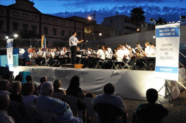 La Banda de Música de Mazarrón abre un nuevo ciclo de conciertos al aire libre, Foto 1