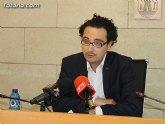 El Portavoz del equipo de Gobierno, David Amorós, ofrece una rueda de prensa sobre el balance del pleno ordinario correspondiente al mes de junio