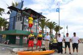 Un total de 36 socorristas vigilan las playas de San Pedro del Pinatar este verano
