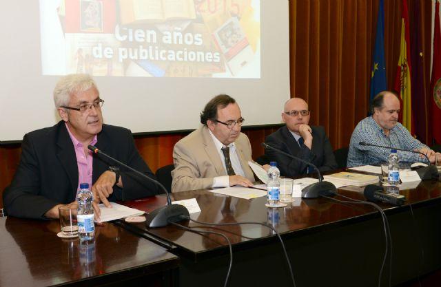 La Universidad de Murcia conmemora el centenario de su editorial - 1, Foto 1