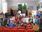 El programa de animaci�n a la lectura finaliz� el curso escolar 2013/14 con el cuentacuentos La brujita frambuesita