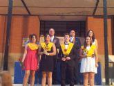 Hermoso acto de graduación del curso 2014 en el IES Sierra Minera