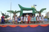 Belén Quiñones Díaz fue coronada Reina Infantil 2014 de Puerto Lumbreras