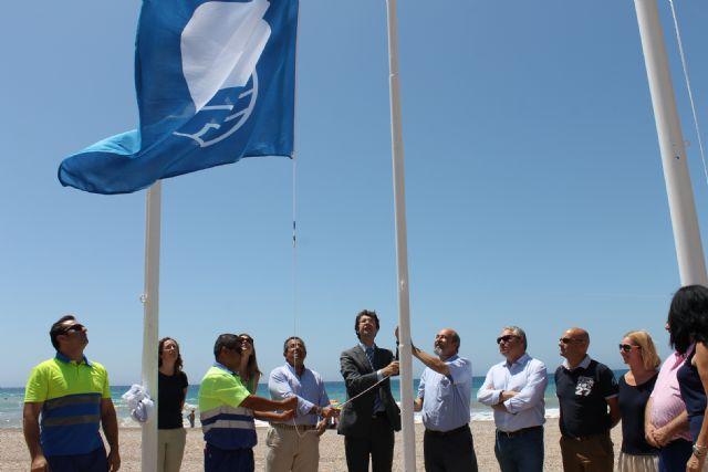 Izado de banderas en Mazarrón, Foto 1