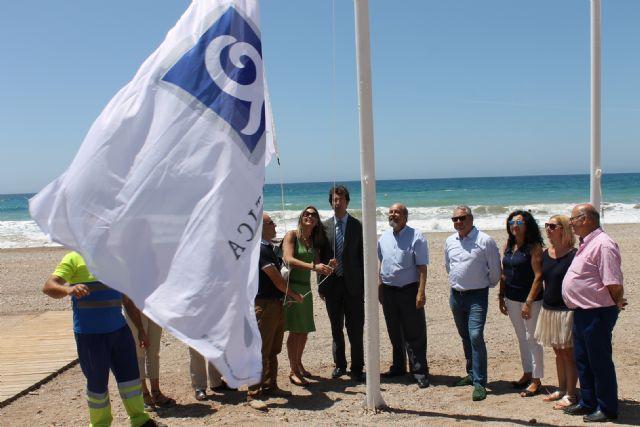 Izado de banderas en Mazarrón, Foto 2
