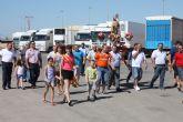 Los camioneros de Torre-Pacheco festejan San Cristóbal