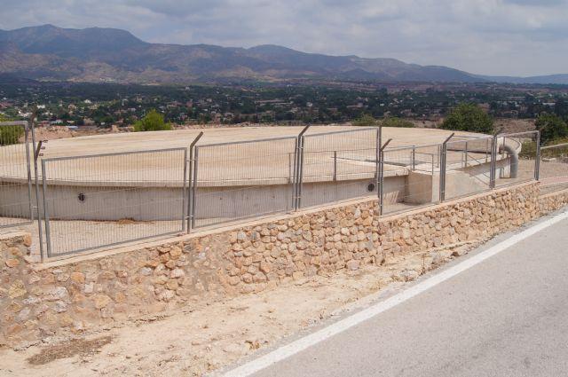La Mancomunidad de Canales del Taibilla proceder� este mi�rcoles, d�a 9 de julio, a la limpieza del dep�sito de agua de San Jos�, Foto 1