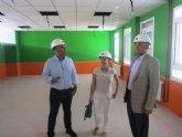Educación y el Ayuntamiento de La Unión concluirán las obras del octavo colegio del municipio antes de comenzar el próximo curso
