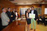 El Ayuntamiento de San Javier recibe el Premio a las 'Iniciativas de educación ambiental' que concede la Consejería de Agricultura y Agua
