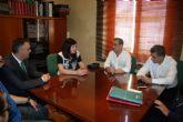 Visita de la directora general de Comercio a Alcantarilla