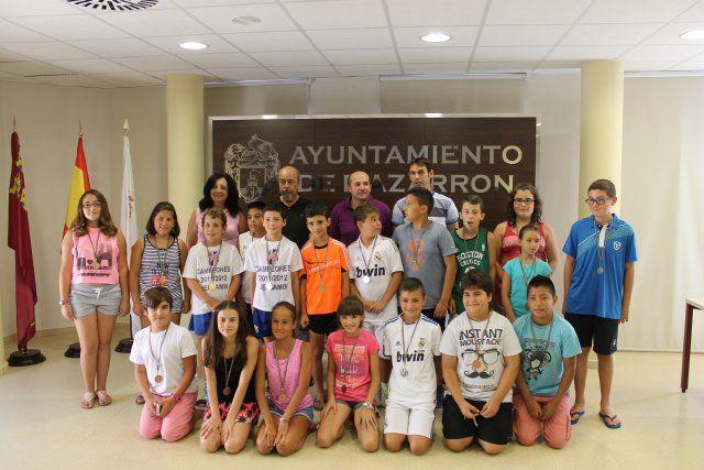 Treinta escolares participan en el primer campeonato de dodgeball, Foto 3