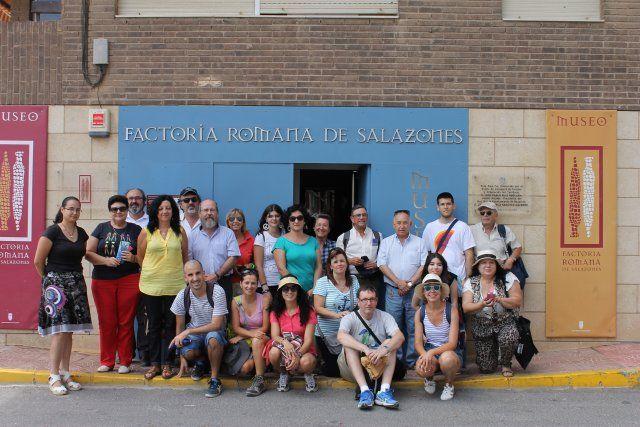 Mazarrón lugar de clausura de un curso de verano sobre patrimonio cultural, Foto 2