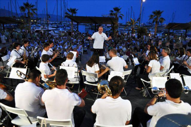 La Unión Musical de San Pedro del Pinatar protagoniza el segundo concierto de verano, Foto 1
