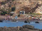 En marcha el Plan COPLA en las playas de Portmán