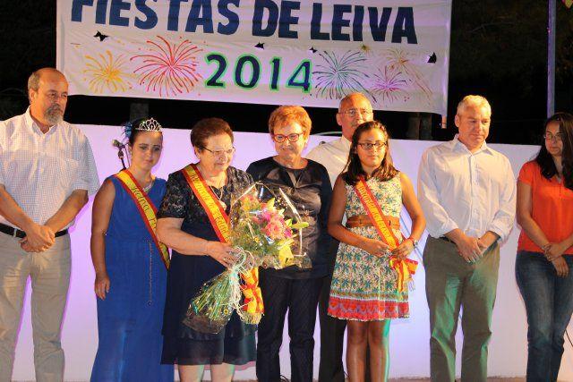 Salvadora Gallego abre con su pregón las fiestas de Leiva 2014, Foto 5
