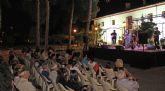 La cantautora lumbrerense Amarela actuó anoche en concierto en Puerto Lumbreras dentro de la programación Nogalte Cultural