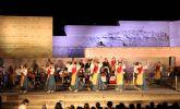 Más de 1.000 personas disfrutaron del XXVII Festival Nacional de Folklore en el Castillo de Nogalte