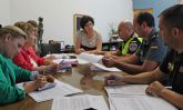 Se reúne la Junta Local de Seguridad de Puerto Lumbreras para incrementar la seguridad ciudadana durante los meses de verano