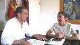 Educación mejora la seguridad del CEIP Jara Carrillo de Alcantarilla con la construcción de una escalera de emergencia