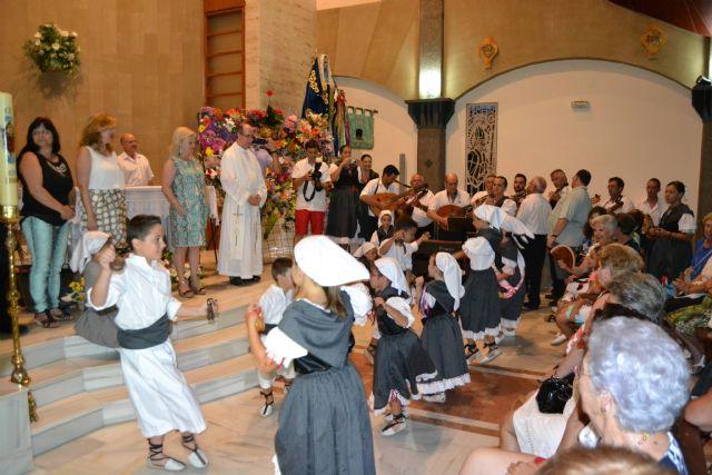 Lo Pagán celebra una ofrenda de flores y frutos en honor a la Virgen del Carmen - 1, Foto 1