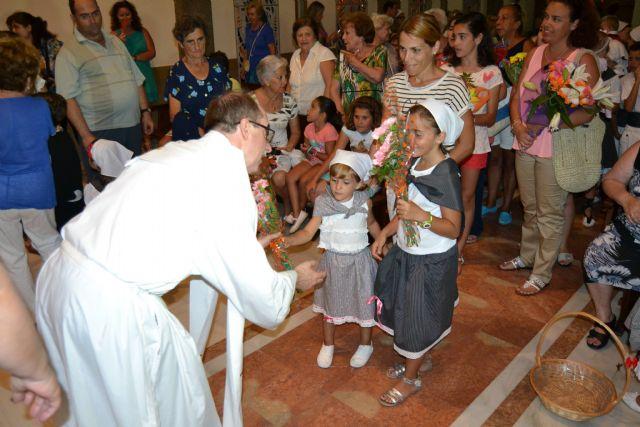 Lo Pagán celebra una ofrenda de flores y frutos en honor a la Virgen del Carmen - 2, Foto 2
