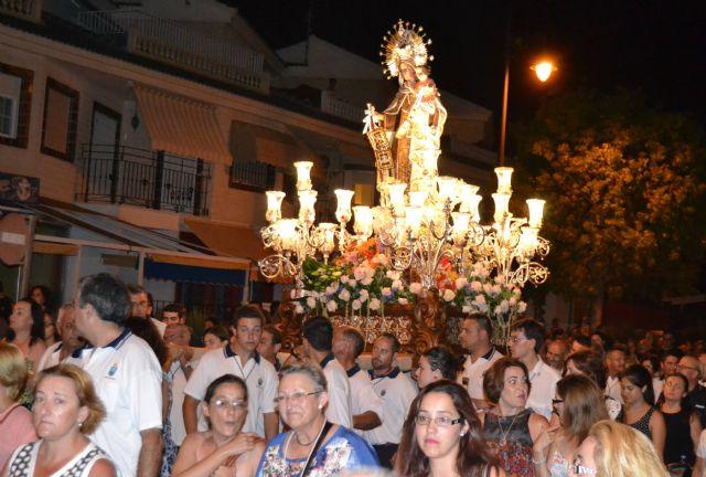 Lo Pagán celebra una ofrenda de flores y frutos en honor a la Virgen del Carmen - 4, Foto 4
