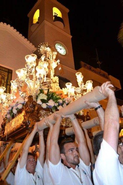 Lo Pagán celebra una ofrenda de flores y frutos en honor a la Virgen del Carmen - 3, Foto 3