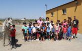 Más de 40 niños y niñas aprenden a cuidar y montar a caballo a través del I Campus de Actividades al Aire Libre que se celebra en Puerto Lumbreras