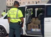 La Guardia Civil intercepta una furgoneta cargada de hachís durante un control de velocidad