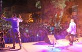 Los Chunguitos ponen el toque rumbero al Nogalte Cultural 2014 en Puerto Lumbreras ante más de 4.000 personas