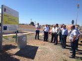Inaugurado un colector de más de 5 kilómetros que conducirá las aguas residuales de las pedanías pachequeras de Camachos y Dolores a la depuradora principal