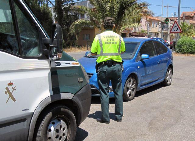 La Guardia Civil detiene a una persona (vecino de Totana de 69 años) por conducir a más del doble de la velocidad máxima, Foto 1