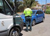 La Guardia Civil detiene a una persona (vecino de Totana de 69 años) por conducir a más del doble de la velocidad máxima