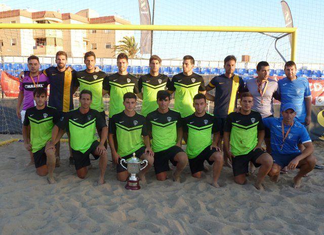 El Bala Azul se proclama en La Manga subcampeón de España de Fútbol Playa, Foto 1