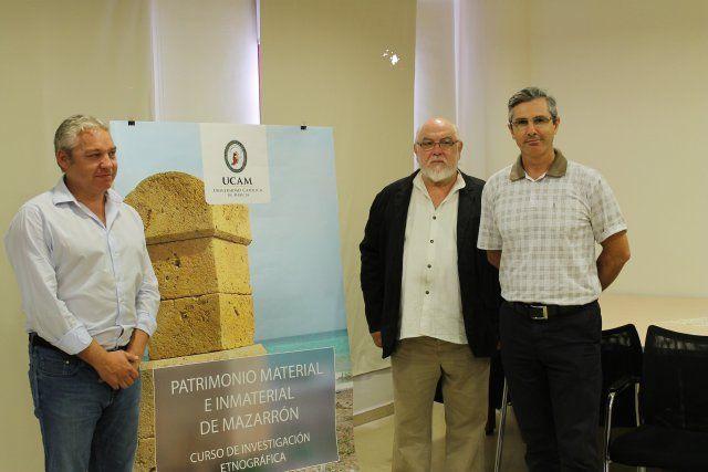 La UCAM presenta un curso de investigación en defensa del patrimonio cultural de Mazarrón, Foto 1