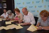 El Ayuntamiento renueva cuatro convenios de colaboración con asociaciones municipales que se repartirán 8.000 euros