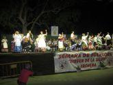 La inauguración de la XXV Semana de Folclore Virgen de la Salud estuvo a cargo de la Concejala Manuela Moreno