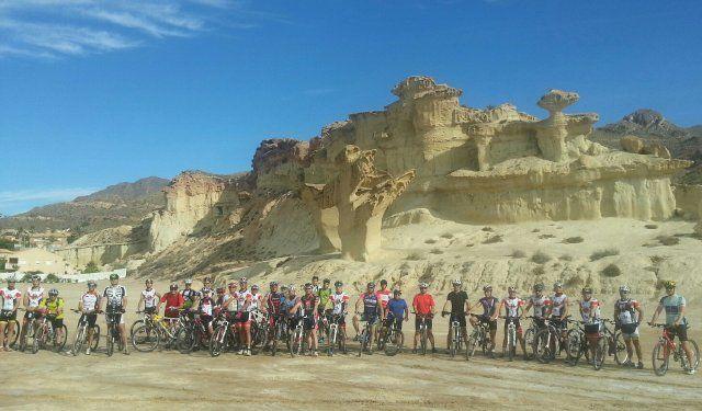 Quinta ruta cicloturista del Club Fenicios de Puerto de Mazarrón, Foto 2