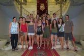 Jóvenes de toda España trabajan en la conservación del Garbancillo de Tallante