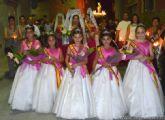 El Barrio del Carmen de Alguazas rinde a su Virgen tributo festero de devoción
