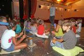 Concluyen los talleres para los pequeños de La Mar Chica