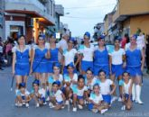 Cerca de una veintena de Peñas y comparsas llenan de colorido y alegría del Barrio del Carmen de Alguazas